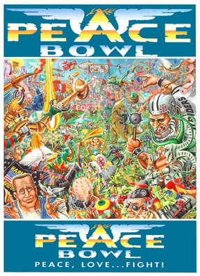 Peacebowl box cover